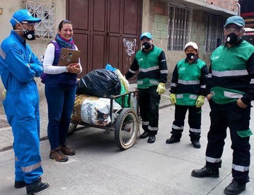 Espacio de participación y concertación para recicladores en Suba.